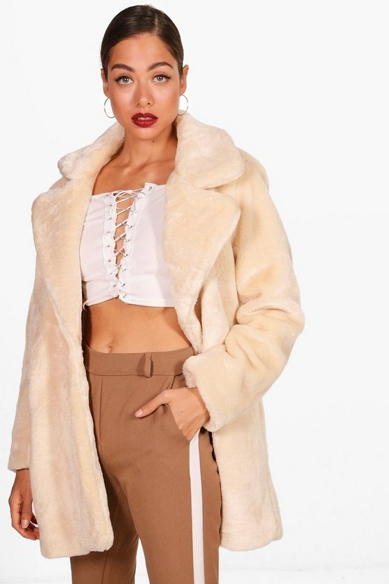 Chelsea Faux Fur Coat