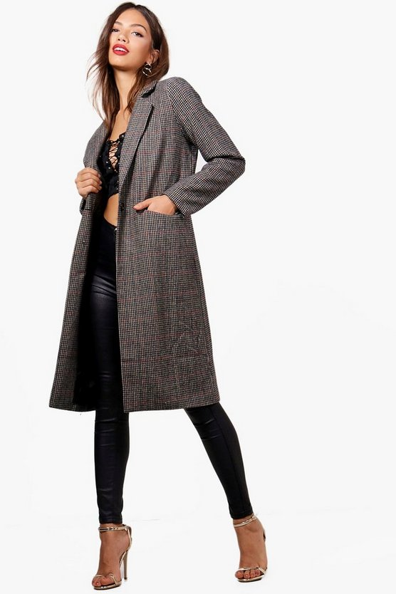 Annabelle Check Coat