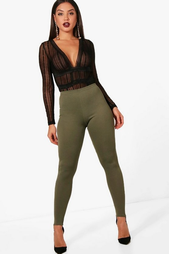 Alayna Crepe Stirrup Leggings