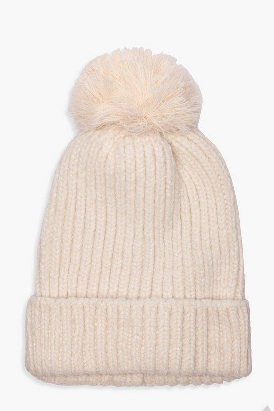 Jade Mix Soft Touch Pom Beanie