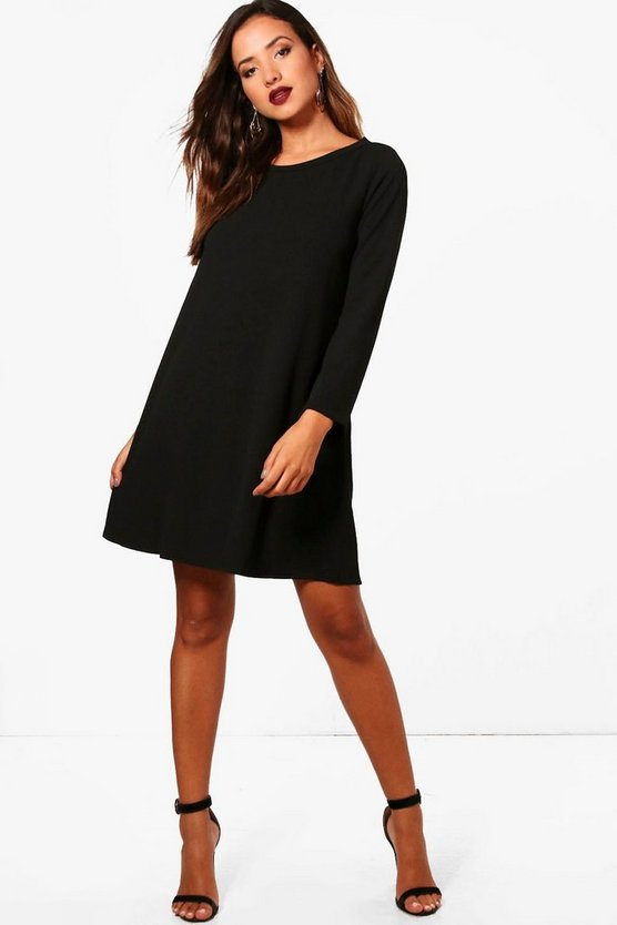 Erin Longsleeve Shift Dress