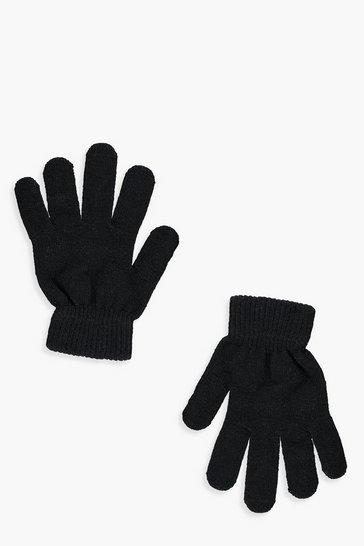 Black Thermal Magic Gloves