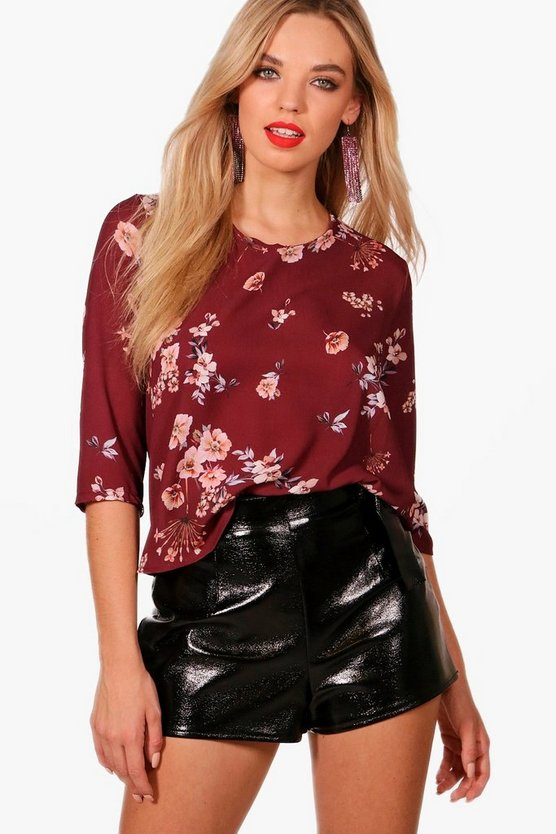 Alicia Floral Print Blouse
