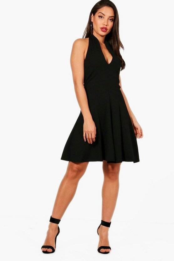 Ellie Halter Neck Dress
