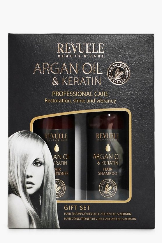 Revuele Argan Oil & Keratin Gift Set