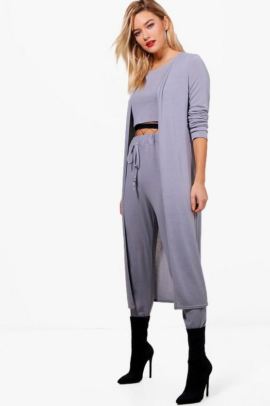 Darcey 3-Piece Knitted Loungewear Set