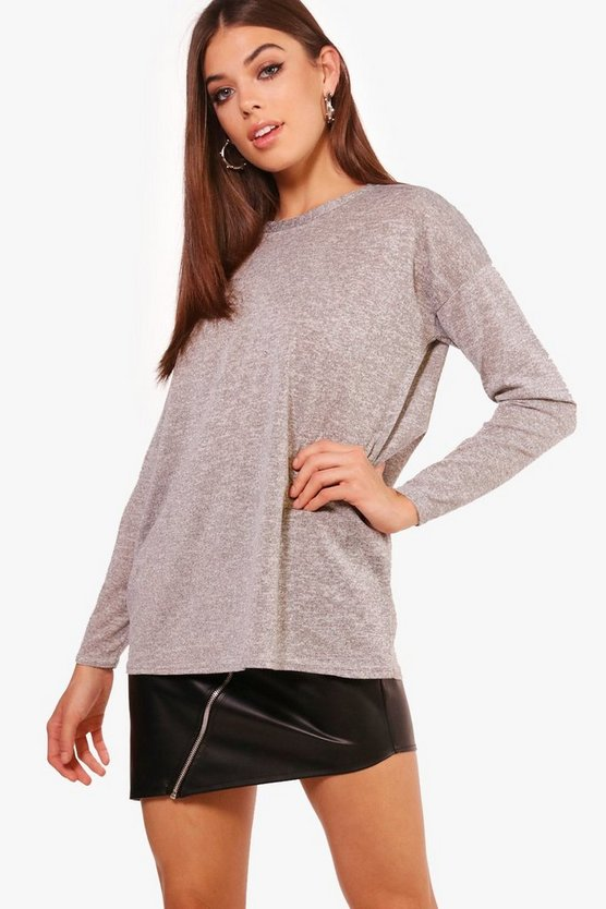 Eliza Knitted Long Sleeve T-Shirt