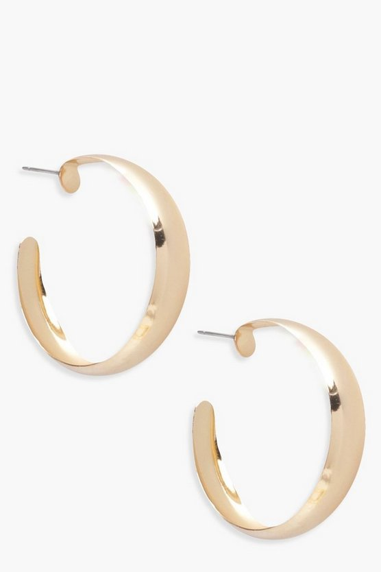 Abby Chunky Hoop Earrings