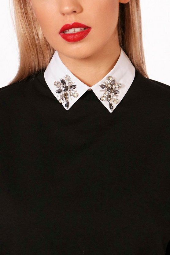 Alice Diamante Embellished Collar