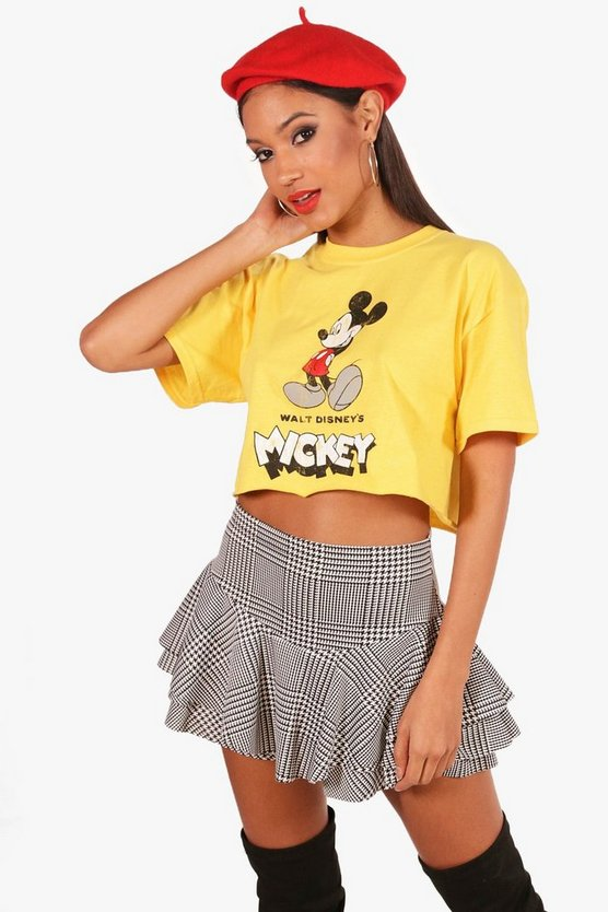Walt Disney Mickey Oversized Crop