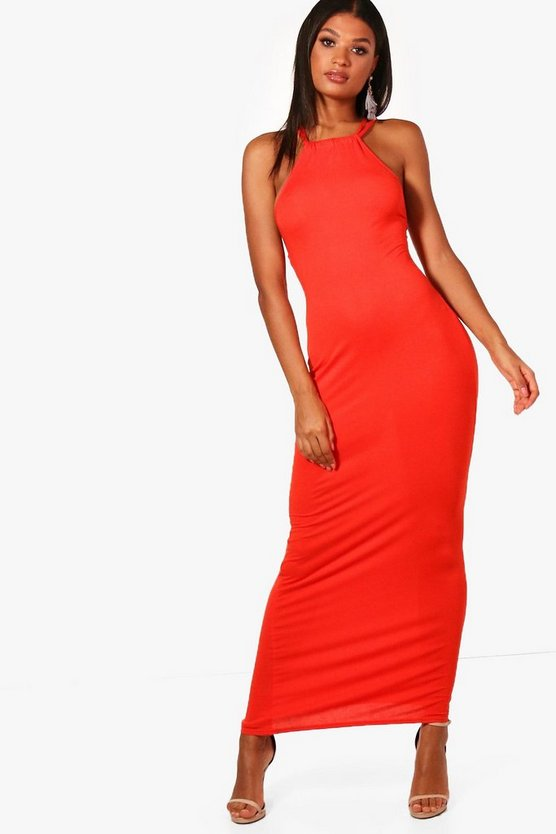 Yasmin Strappy Back Maxi Dress