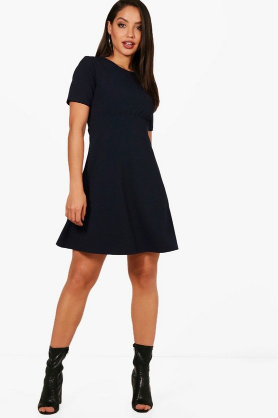Karina Tailored Skater Dress