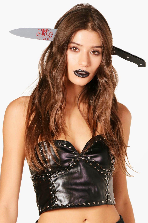 Prop Headband - black - Knife Prop Headband - blac