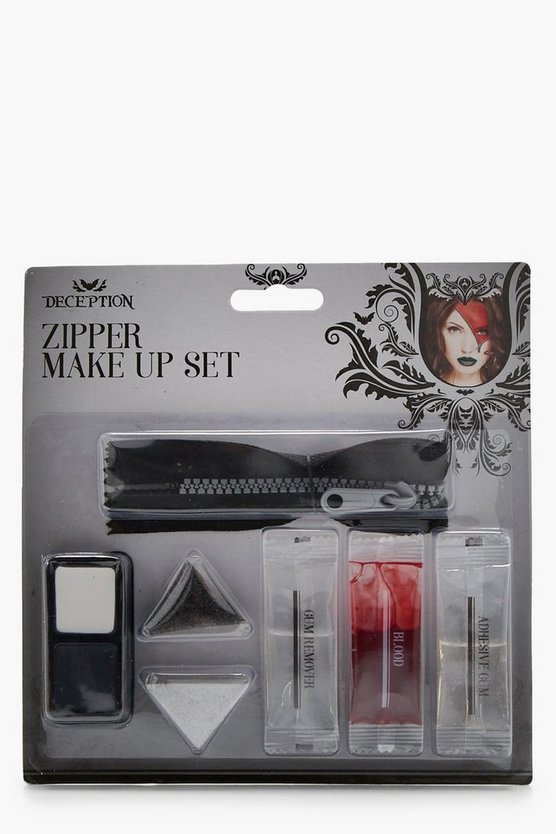 Halloween Zipper Make Up Set