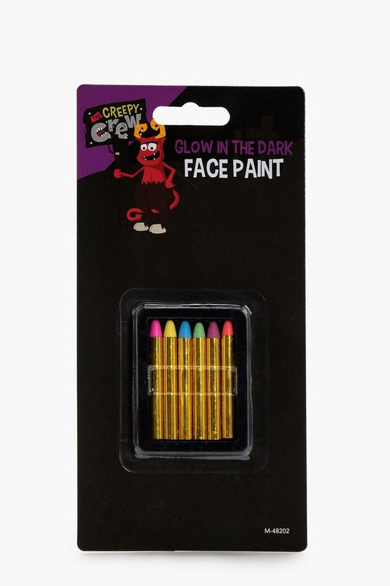 Hallowen Face Paint Crayons 5 piece