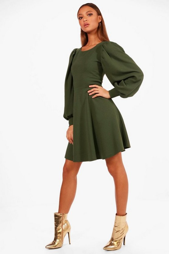 Millie Full Sleeve Skater Dress