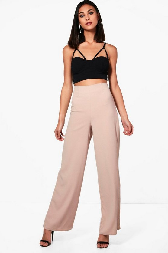 Wide Leg Silky Trouser