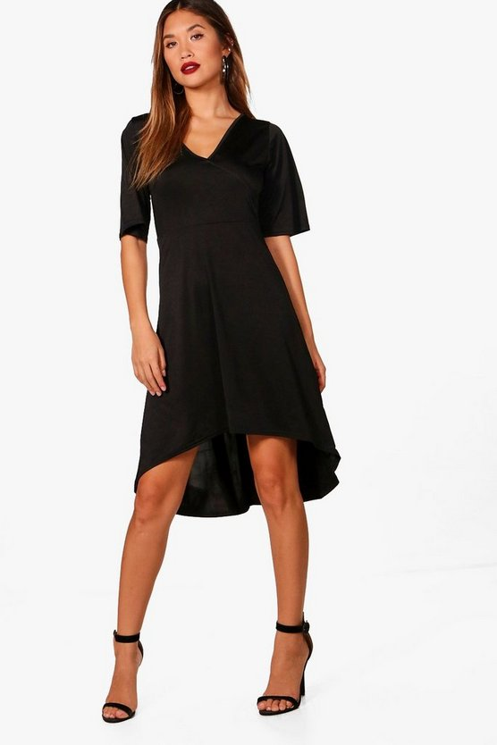 Mischa Wrap Over Dress