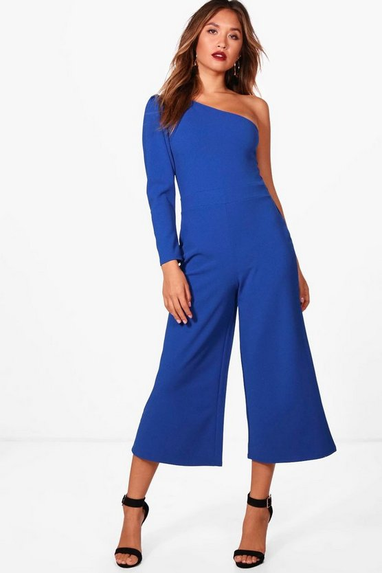 Reyna Exaggerated Sleeve Culotte Jumpsuit