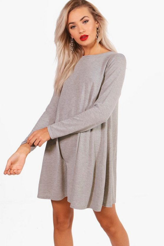 Olivia Fine Knit Swing Dress