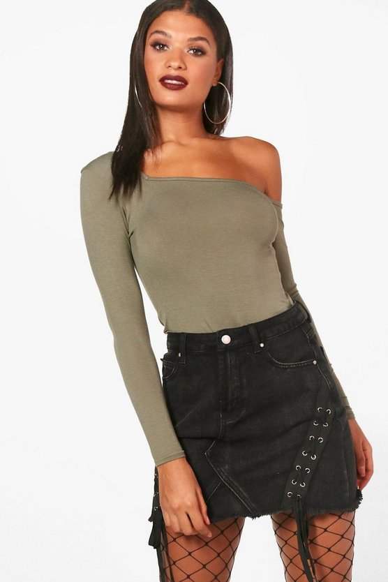 Adriana Square Neck Long Sleeve Top
