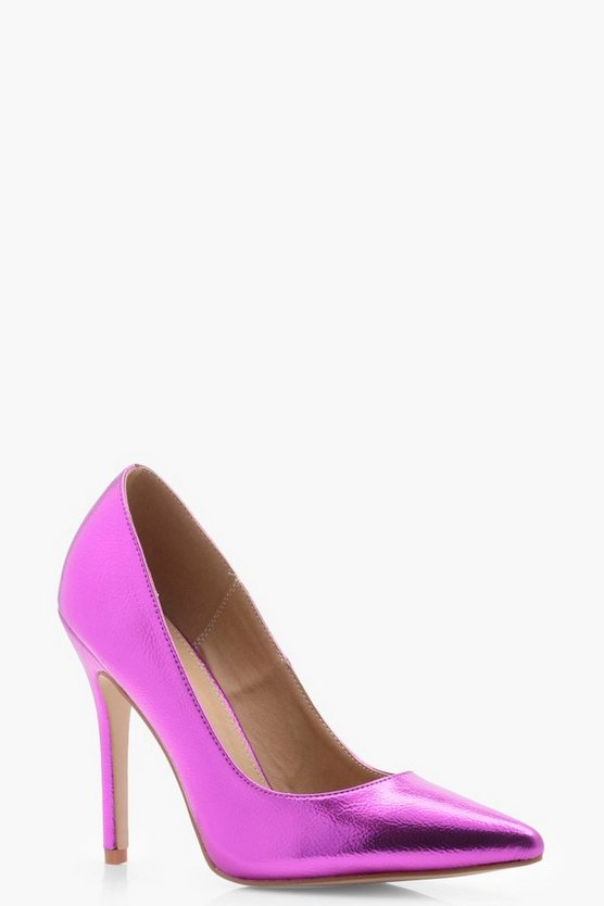 Cameron Metallic Court Shoes