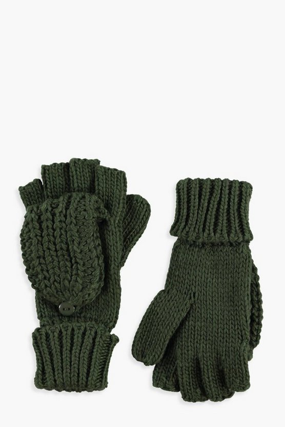 Sadie Knitted Flip Top Glove