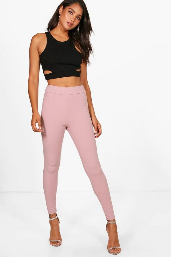 Bekki High Waist Crepe Legging
