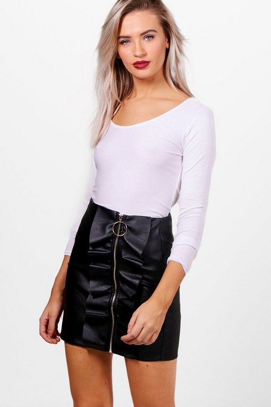Holly Round Neck Long Sleeve Top