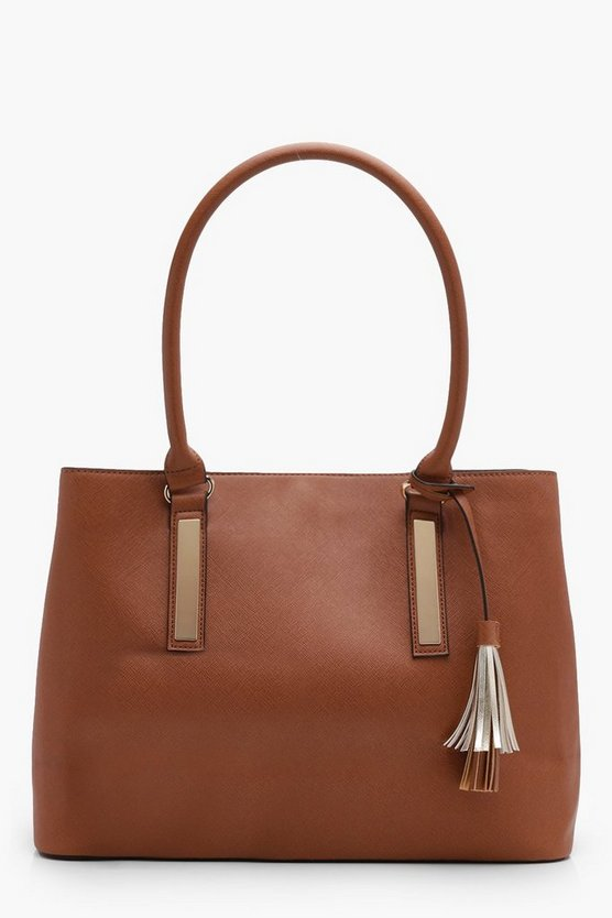 Double Component Structured Tote
