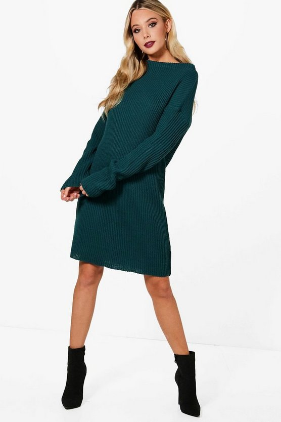 Freya Funnel Neck Dress