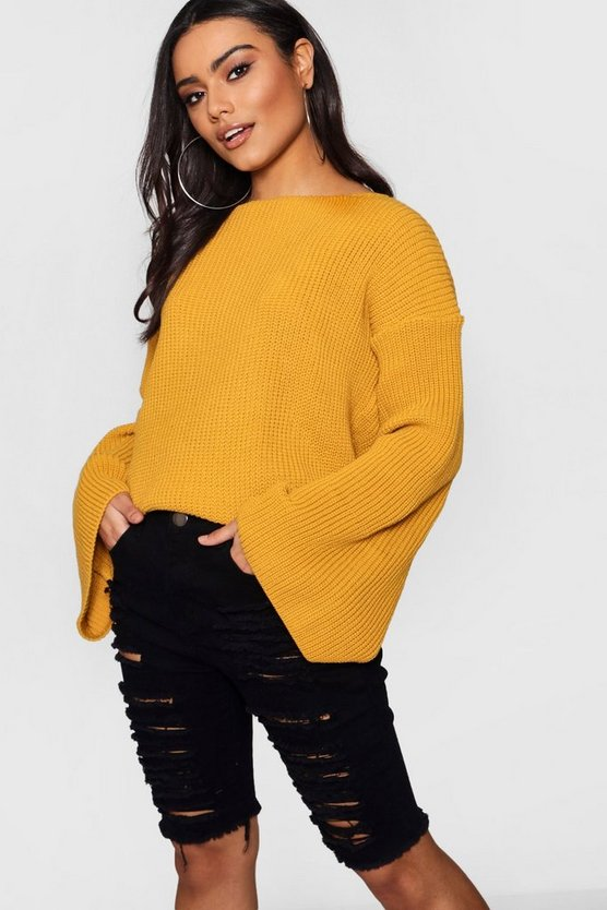 Jasmine Wide Sleeve Jumper