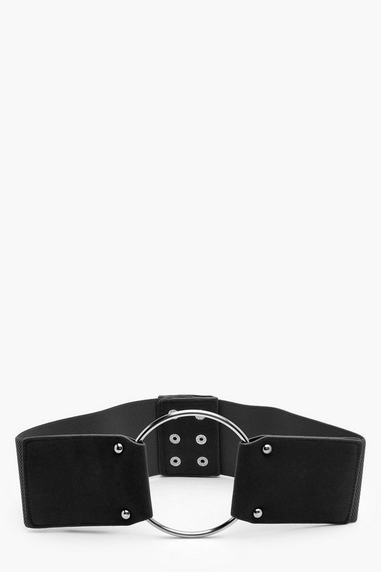 Jane Suedette O-Ring Waist Belt