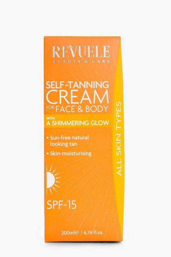 Self Tan Cream Shimmer