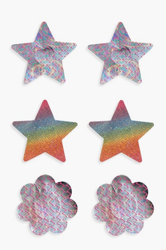 3 Pack Novelty Nipple Covers