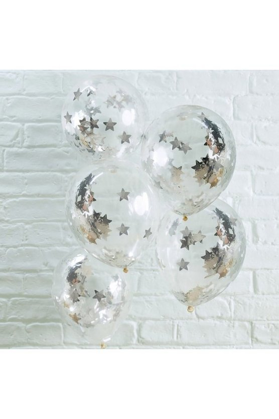 Star Confetti Balloon