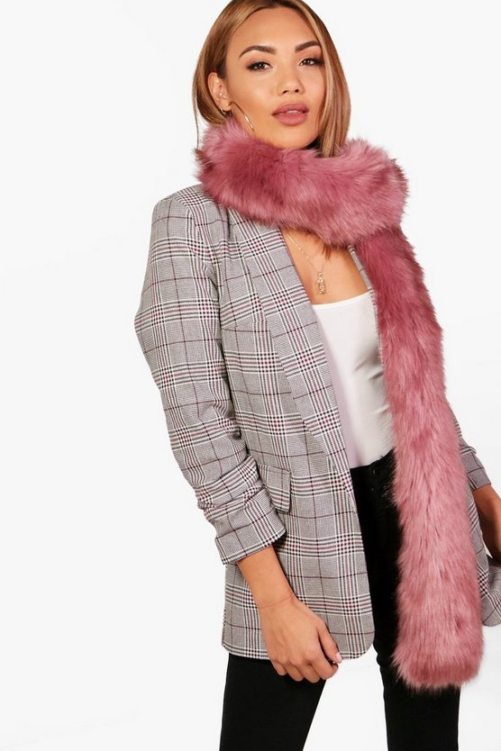 Kelly Longline Faux Fur Scarf