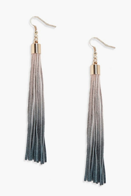 Daisy Ombre Tassel Earrings