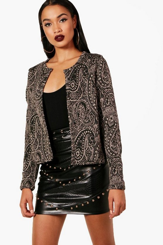 Jennie Jacquard Bed Jacket