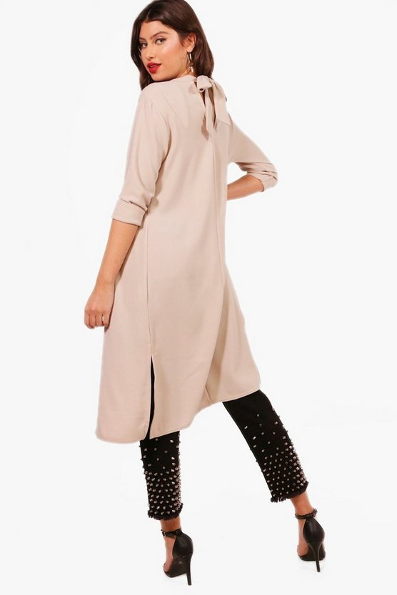 Bethany Bow Back Duster