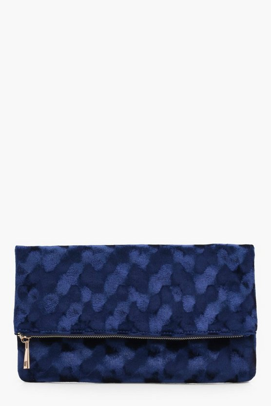 Beth Velvet Clutch Bag