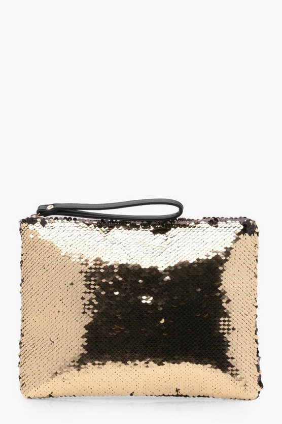 Emily Sequin Clutch Bag