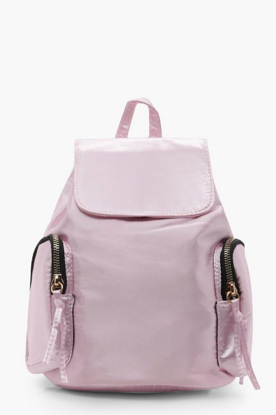 Ria Double Side Pocket Drawstring Rucksack