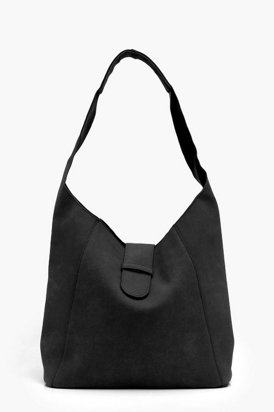 Melissa Unlined Suedette Hobo Day Bag
