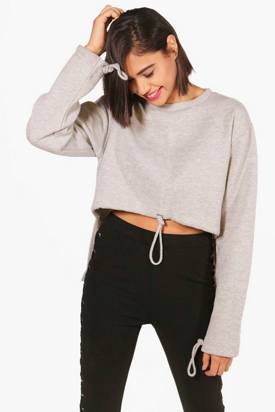 Natalie Athleisure Drawstring Sweat