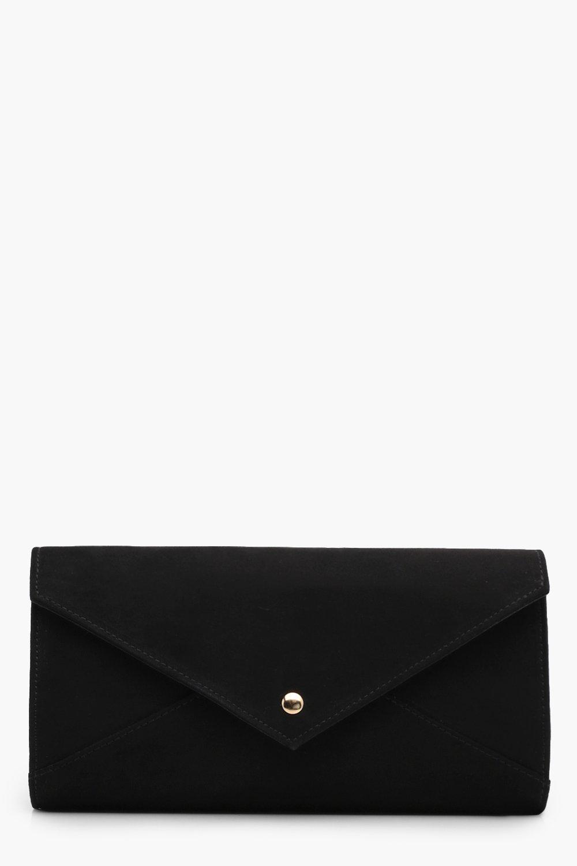 Popper Envelope Clutch - black - Ana Popper Envelo