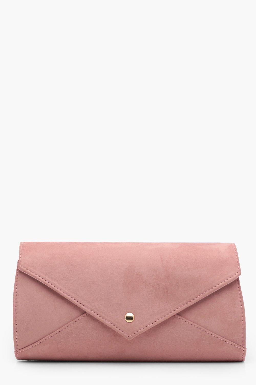Popper Envelope Clutch - nude - Ana Popper Envelop