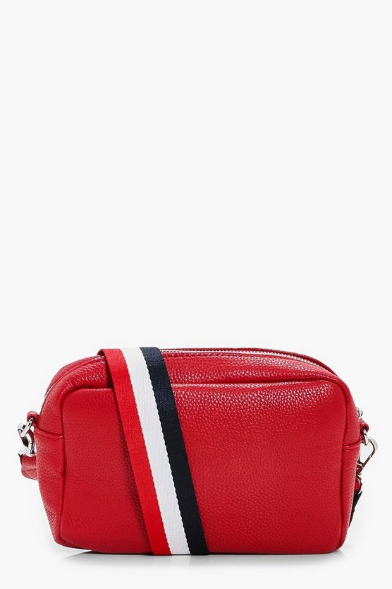 Ivy Stripe Web Strap Camera Bag