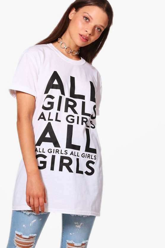 Freya Girls Slogan T-Shirt