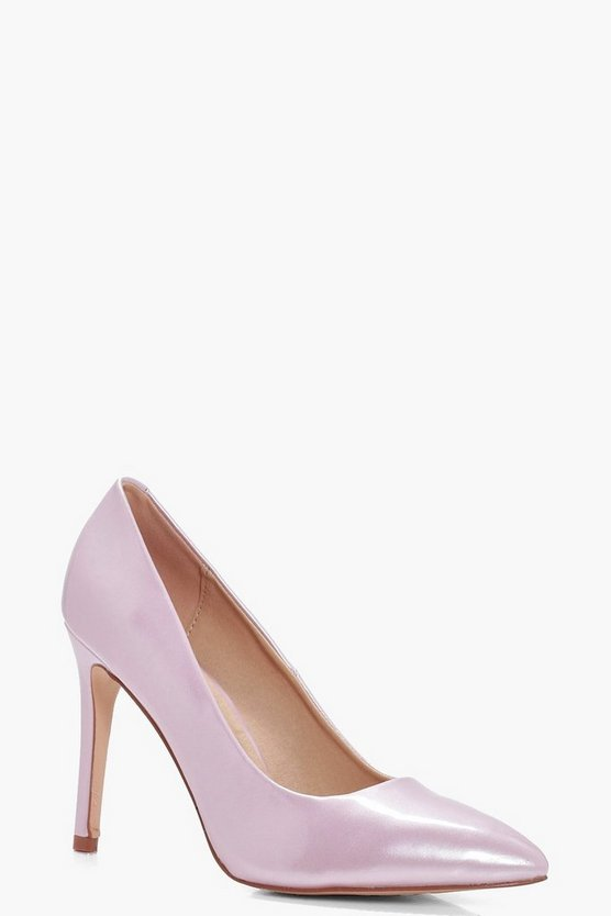 Kate Wide Fit Pointed Courts